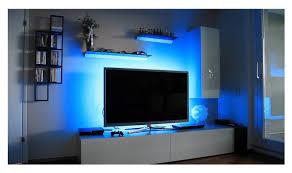 calish bias lighting tv backlight 200cm multi color rgb led strip usb cable tv lighting for flat screen tv lcd desktop pc reduce eye fatigue and increase