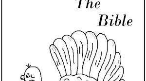 Bible Thanksgiving Coloring Pages Christian Free Color Ideas