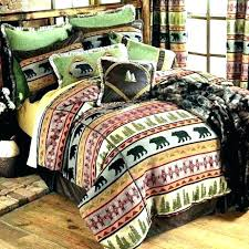 clever design cabin style comforter sets french laundry bedding designer rustic lodge comforters