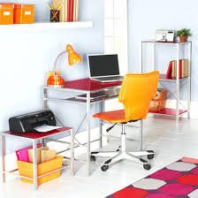 colorful office decor. Colorful Office Decorating Ideas Vibrant Color Home In Modern Contemporary Style With Gloss Pink Decor