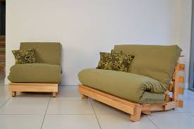 king size futon. Traditional Chair And Compact Double. Removable Covers:Rovio Moss. Base Stain:Honey King Size Futon D