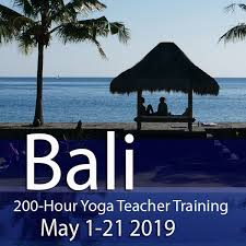 200hr bali yoga teacher may 2019