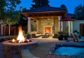 incredible outdoor lighting ideas front porch halloween with terrific fireplace near patio couches enlightened by the child friendly halloween lighting inmyinterior outdoor