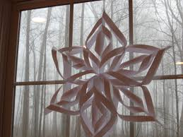 paper snowflakes 3d super cool easy 6 pointed snowflake