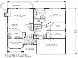 Open Floor Plan Craftsman Open Floor Plans Craftsman Bungalow Floor Plans Narrow