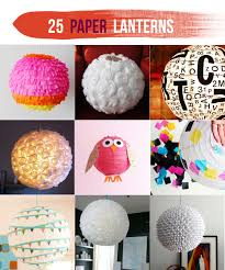 use glitter tissue paper crepe paper coffee filers and so many other crafty things to transform a simple paper lantern