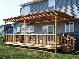 Simple Pergola pergolas on decks image of pergola simple wooden design exterior 5504 by xevi.us