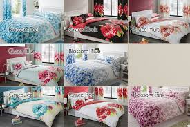 bedding set matching curtains