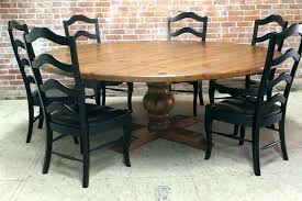large round dining table seats 8 for your house full size of farmhouse dining table seats