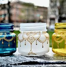 Decorated Mason Jars For Sale On sale This mason jar lantern is handpainted and is inspired by 83