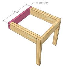 Ana White Four Dollar Stackable Childrens Chairs DIY Projects
