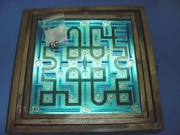 Wooden Maze Games Labyrinth I maze game Neighborhood Values Toys Games 88