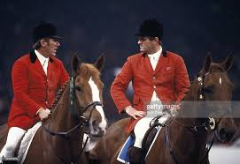 Golden Age of Show Jumping - Harvey Smith and David Broome. Two of the  greatest show jumpers of all time, not to mention great friends and rivals.  At most of the shows