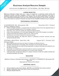 Sample Resumes For Business Analyst Example Business Analyst Resume Skinalluremedspa Com