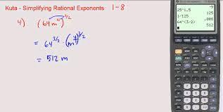 mesmerizing algebra calculator simplifying radical expressions also kuta simplifying rational exponents 1 through 8 you