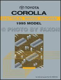 1995 toyota corolla wiring diagram manual original