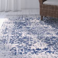 ont area rugs navy blue entracing mistana hillsby oriental beige rug reviews wayfair