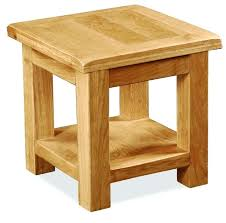 small oak table rustic oak lamp table with shelf small oak side table with drawer