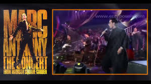 marc anthony i need to know live msg