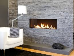 hilarious stacked stone fireplace white