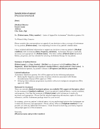 Disability Appeal Letters How To Write An Appeal Letter For Financial Aid Awesome Sample