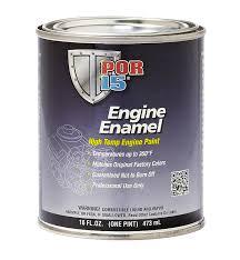 Por 15 42268 Engine Enamel In Chevy Orange