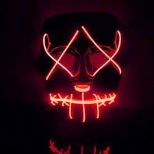 <b>Masks</b> Toys & Games Balai Frightening <b>Halloween</b> Cosplay LED ...