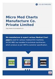 Micro Med Charts Manufacture Co Private Limited Authorstream