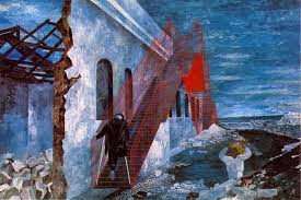 ben shahn the red stairway