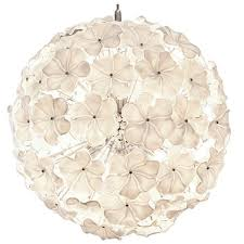 murano glass flower chandelier by cenedese for