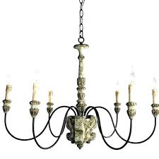 large french country 8 light curled iron arm chandelier chandeliers for dining room traditional chandel
