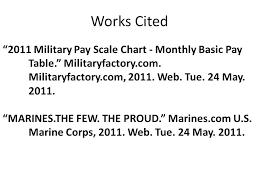 Marines Pay Chart 2013 Military Pay Table Rootsistem Com