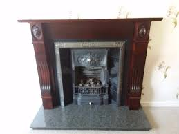gazco gas fire fireplace and granite hearth