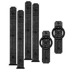 garage door hinges. Cre8tive Hardware 6-Pack 14-in Decorative Black Magnetic Garage Door Hinge And Handle Hinges N