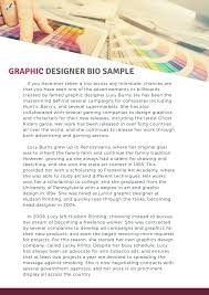 Graphic Designer Bio Tips That Make It Worth Writing Bio