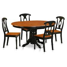 East West Furniture Kenley 5 Piece Dining Table Set Table With One