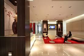 innovative home office dessign idea cream furniture interior interior design home blue modern home office