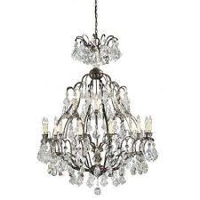timeless elegance collection 18 light bronze hanging chandelier