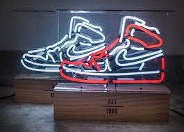 Jordan Shoes With Lights These Neon Lights Pay Tribute To The Air Jordan 1 Neon