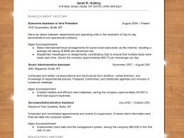 How To Write A Chronological Resume With Sample Set Up For