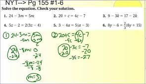 lesson 3 4 solving equations with variables on both sides