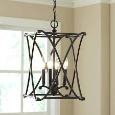 brushed nickel foyer chandelier entry hall lighting modern chandeliers large size of staircase lantern dining room