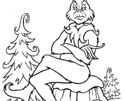 Small Picture HOW THE GRINCH STOLE CHRISTMAS Coloring Pages The Grinch Is Santa