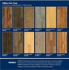 color options coretec vinyl plank flooring maintenance plus 5
