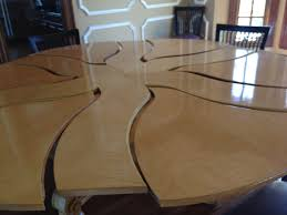 Expanding Tables Expanding Round Dining Table