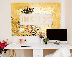 good looking wall decoration 11 diy sequins art cabinet engaging wall decoration