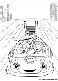 Small Picture Good Umizoomi Coloring Pages Printable 69 With Additional Free