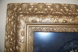 how to antique a picture frame
