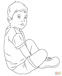 Small Picture Adult child coloring pages Child Coloring Page Free Printable