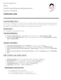 Best Resume Format For Teaching Job Teaching Job Resume Format